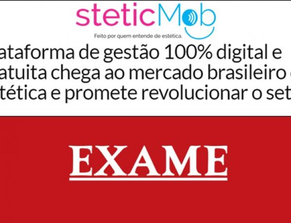 Steticmob na mídia – Exame